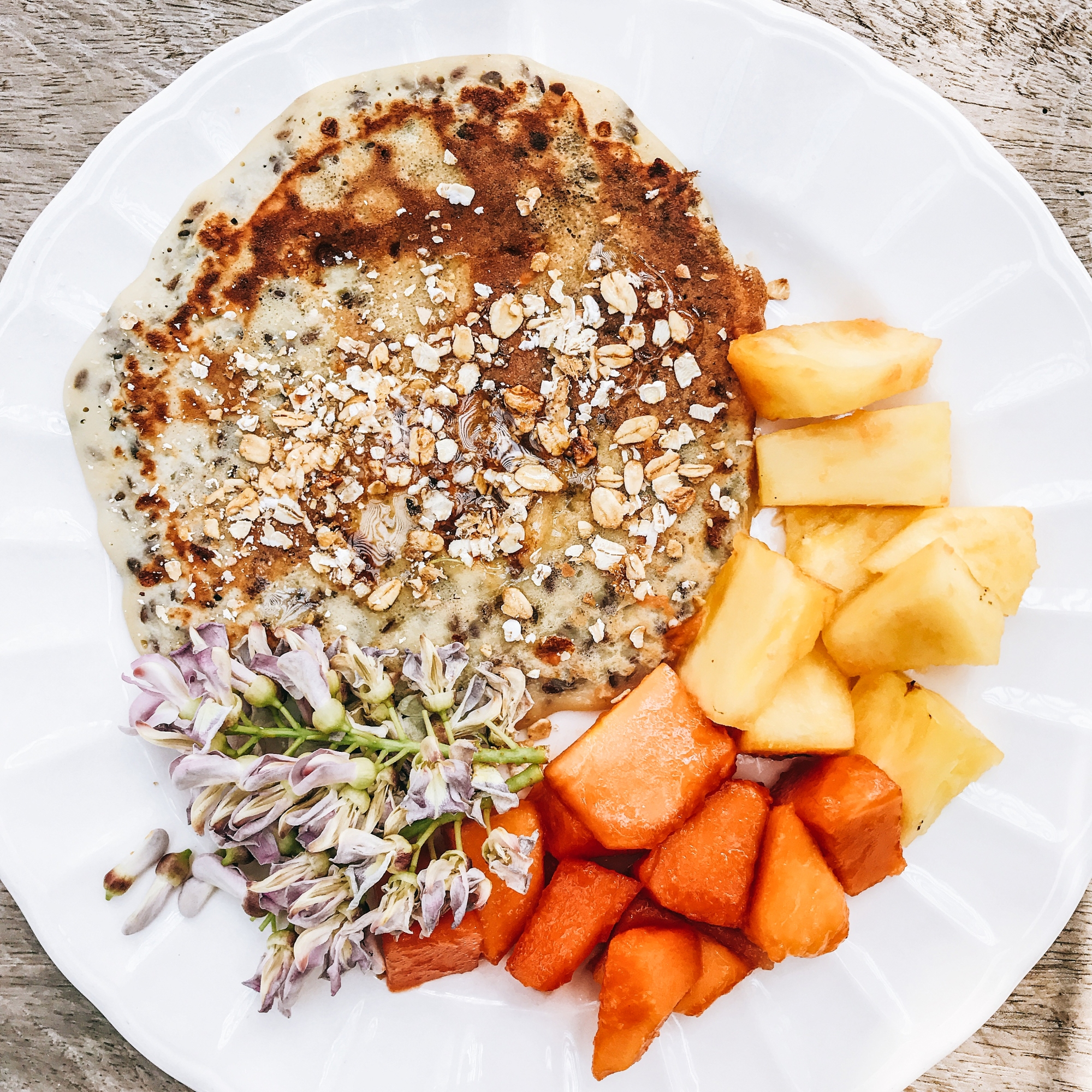 Almond Flax Seed PANCAKES